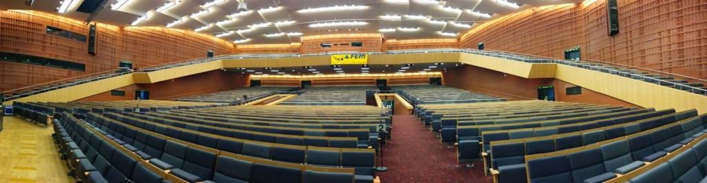 Saal 1 mit 4000 Sitzplätzen CCC Kongress